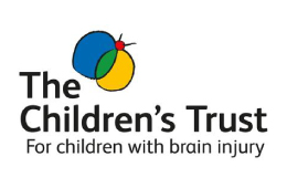 the children's trust logo for children with brain injury