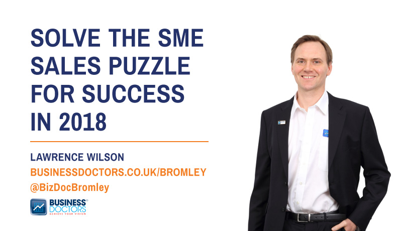 solve the sme sales puzzle for success in 2018 blog post by lawrence wilson