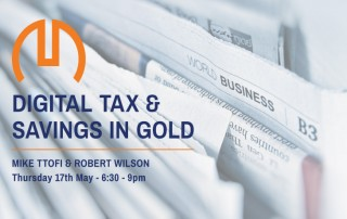 mastermind networking digital tax and savings in gold